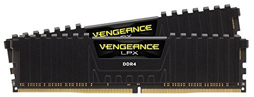 Corsair Vengeance LPX 8GB, kit 2x4GB DDR4, 2133 MHz, CL13 XMP 2.0, Nero