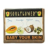 Soulflower Baby Your Skin (100 Percent Veg Soap), 150g