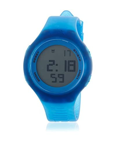 Puma Reloj de cuarzo Unisex Loop Transparent 44 mm
