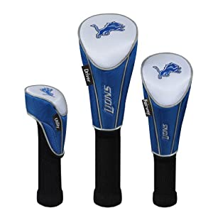 Detroit Lions Set of 3 Headcovers by McArthur