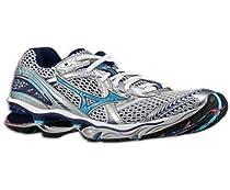 mizuno creation 12 silver blue women running shoes (7)