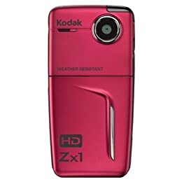 Kodak Zx1 HD Pocket Video Camera Red