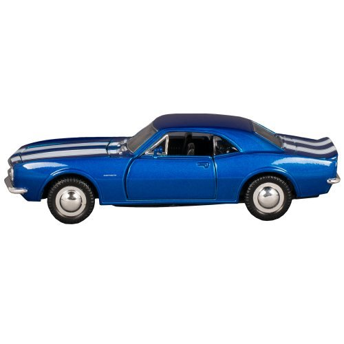 Sunnyside 1967 Chevrolet Camaro Z-28 Collectible Car Toy (Blue with White Stripes) (White Camaro compare prices)
