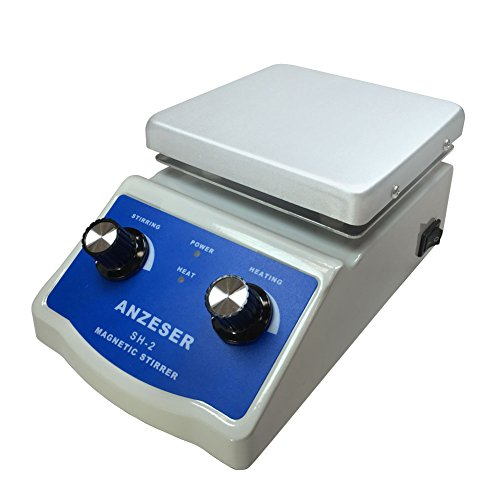 ANZESER SH-2 Magnetic Stirrer with Hot Plate (Hot Plate Thermometer compare prices)