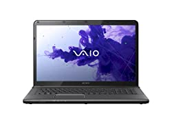 Sony VAIO E Series SVE1713BPXB 17.3-Inch Laptop (Black)