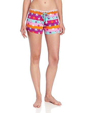 (历史最低)大嘴猴Paul Frank 女士可爱纯棉居家短裤睡衣Cool Breeze $8.87