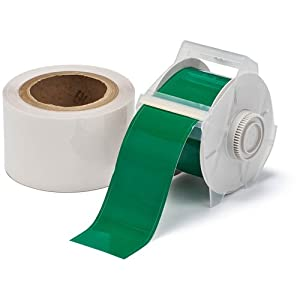 "GlobalMark Green 1.25"" Toughstripe Labels with Overlaminate"
