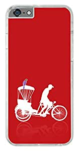 iPhone 6s Cover Case ,Premium Quality Designer Printed 2D Transparent Lightweight Slim Matte Finish Hard Case Back Cover for Apple iPhone 6s by Tamah