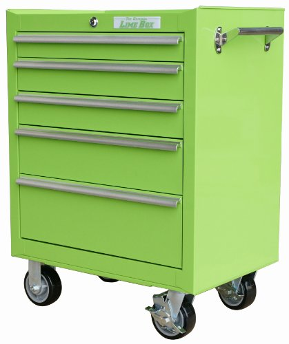 The Original Lime Box LB2605R 26-Inch 5-Drawer