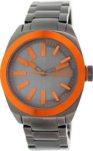 Hugo Boss Men'S 1513057 Grey Stainless-Steel Analog Quartz Watch