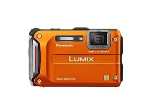 Panasonic Lumix TS4 12.1 TOUGH Waterproof Digital Camera with 4.6x Optical Zoom (Orange)
