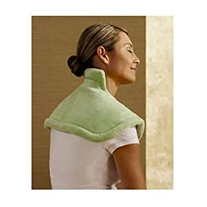 Sunbeam 885-000 Renue Heat Therapy Neck and Shoulder Wrap, Green