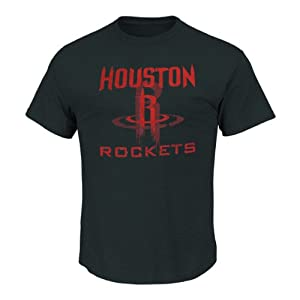 Houston Rockets NBA Crest T-Shirt XL by Majestic Threads