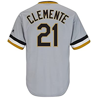 Majestic Athletic Men's Pittsburgh Pirates Roberto Clemente Cooperstown Jersey