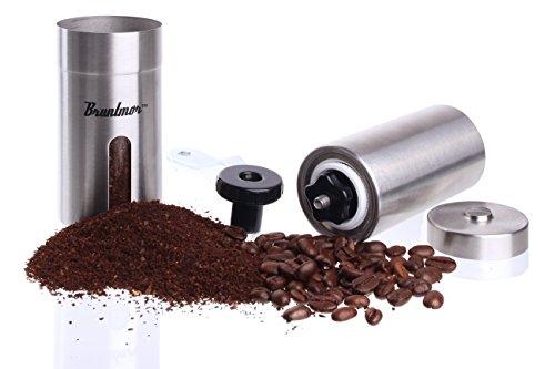 Bruntmor-Portable-Slim-Ceramic-Burr-Manual-Coffee-Grinder-1810-Stainless-Steel