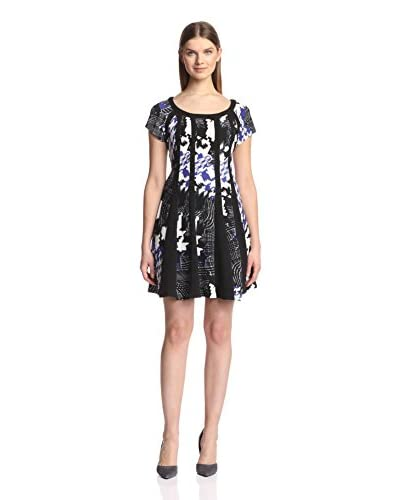Signature Robbie Bee Women's Knit Print Dress