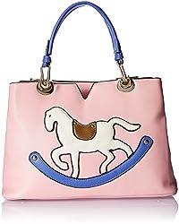 7 Jaunty Avenue Women's Satchel (Pink) (1101059)