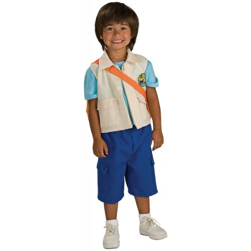 Diego Deluxe Toddler Costume Clothes Size 2-4