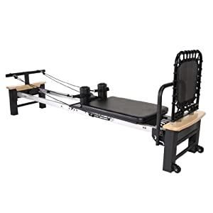 Stamina AeroPilates Pro XP 556 Home Pilates Reformer with Free-Form Cardio Rebounder