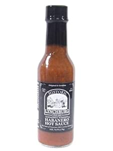 Historic Lychburg Tennessee Whiskey Habanero Hot Sauce by Porky's Gourmet Foods