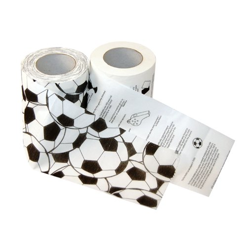 Thumbs Up FOOTBALLROLL carta igienica
