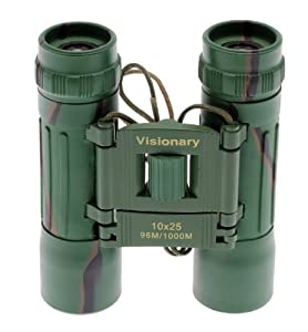Binoculars Visionary DX 10x25 CAMO - great for bird watching etc