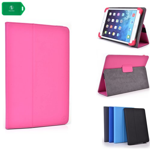 SLIM BOOKSTYLE TABLET COVER CASE PLUS STAND[ PINK ] UNIVERSAL FIT ] Ainol Novo 7 Venus Google