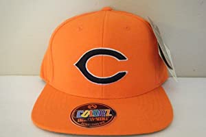 Cincinnati Reds Vintage Snapback Hat Bright Orange by American Needle