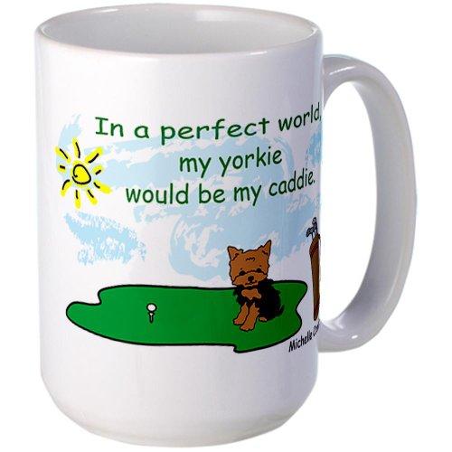 Cafepress Yorkie Large Mug Large Mug - Standard