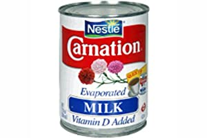 Evaporated Milk (Carnation) - 12fl Oz (Pack of 6)
