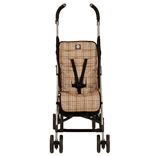 Find Discount Balboa Baby Stroller Liner, Tan Plaid