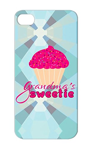 Tpu Grandmas Sweetie Great Grandmothers Family Granddaughter Sweeties Grandmother Grandma Granddaughters Baby Grandchild Candy Cupcake Protective Case For Iphone 5S Pink Anti-Drop front-838106
