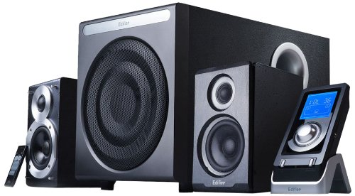 lautsprechers boxen test edifier s530d 2 1 soundsystem rev 2 inkl fernbedienung mit dig out. Black Bedroom Furniture Sets. Home Design Ideas