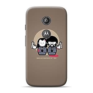 Mobile Back Cover For Motorola E2 (2nd Generation) (Printed Designer Case)