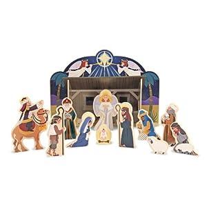 #!Cheap Melissa & Doug Nativity Set