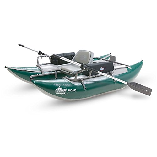 Outcast pac 800fs pontoon boat fishing online mart for Fishing pontoon boat reviews