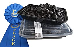 Organic Award-Winning Black Garlic PEELED 1 lb. 30 BULBS!! (Equal to 2 lb.908 grams of whole black garlic: No stems, cores, or peels in weight when you buy PEELED): BPA-free packaging! No GMOS