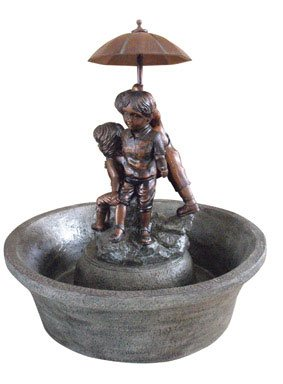 Ace Trading - Southern Sheng OTH-474932 Boy and Girl Fountain