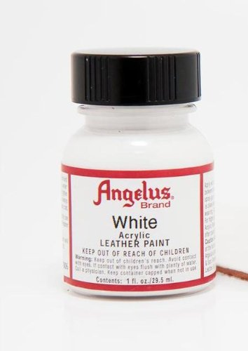 Angelus Leather Paint 1 Oz White (Shoe Paint compare prices)