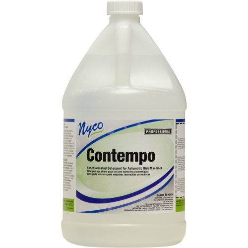 Nyco Products Nl303-G4 Contempo Non-Chlorinated Automatic Dish Detergent, 1-Gallon Bottle (Case Of 4) front-134223