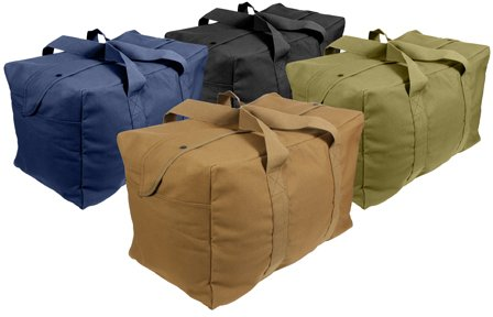 0c06c620fc71 Duffle Bag  Heavy Weight Military Parachute Cargo Bag (24
