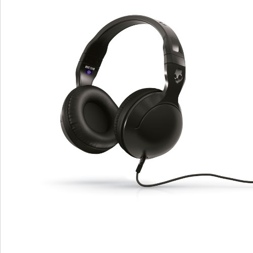 Skullcandy S6HSDZ-161 Hesh 2.0 with Detatchable Cable - Black/Black