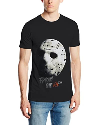 ICONIC COLLECTION - FRIDAY THE 13TH T-Shirt Manica Corta Friday The 13Th Jason Mask