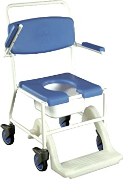 Mobile Shower Commode Chair by NRS