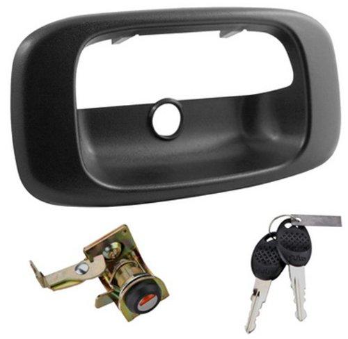 Integrated O.E. Look Tailgate Lock for 1999-2007 Chevrolet Silverado and GMC Sierra 1500/2500/3500 (2000 Gmc Sierra 3500 compare prices)