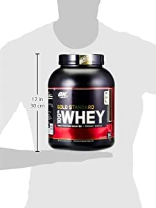 Optimum Nutrition 100% Whey Gold Standard, Double Rich Chocolate, 5 Pound, 80 Ounce