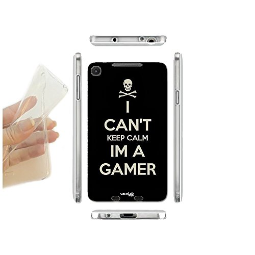 CASELABDESIGNS COVER CUSTODIA MORBIDA I AM A GAMER PER ASUS GOOGLE NEXUS 7 TPU - SCOCCA IN SILICONE PROTETTIVA ANTIURTO