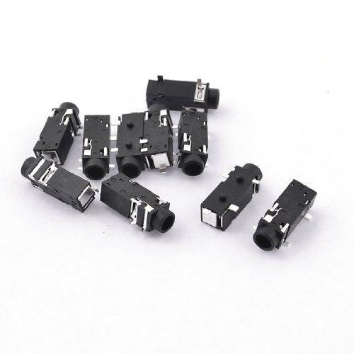 10 pcs PCB 5 pin Mediaplayer Klinke 3,5 mm Stereo Buchse weiblich