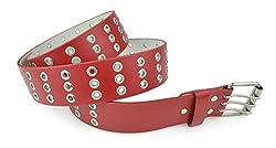 Belle Donne - Women's stylish Belts Dress Belts - Red/X-Large