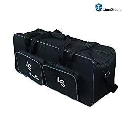 LimoStudio Photography Heavy Duty Convenient Carry Case For Studio Softbox Umbrella Flash Strobe Lighting Kit, AGG975